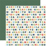 School Days: Alphabet 12x12 Patterned Paper