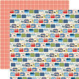 School Days: Lunch Boxes 12x12 Patterned Paper