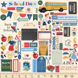 School Days: Element Sticker