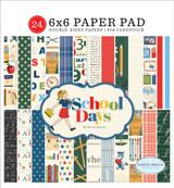 School Days: 6x6 Paper Pad