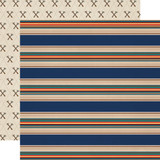 Summer Camp: Summer Stripe 12x12 Patterned Paper