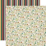Summer Camp: Wildflowers 12x12 Patterned Paper