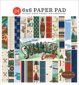 Summer Camp: 6x6 Paper Pad