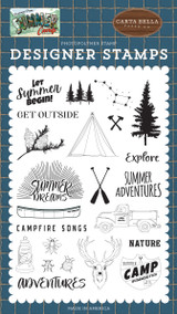 Summer Camp: Let Summer Begin Stamp Set