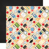 School Rules: Supplies 12x12 Patterned Paper