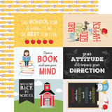 School Rules: 4x6 Journaling Cards 12x12 Patterned Paper