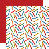 School Rules: Back to School 12x12 Patterned Paper