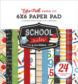 School Rules: 6x6 Paper Pad
