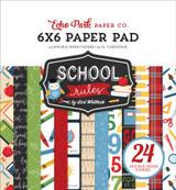 School Rules: 6x6 Paper Pad