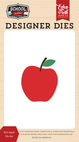 School Rules: Red Apple Die Set