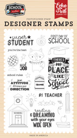 School Rules: Super Student Stamp Set