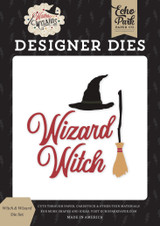Witches & Wizards - Witch & Wizard Die Set