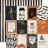 Halloween Market: 3x4 Journaling Cards
