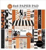 Halloween Market: Halloween Market 6x6 Paper Pad