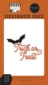 Halloween Market: Bat Trick or Treat Die Set
