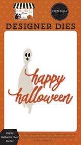 Halloween Market: Happy Halloween Ghost Die Set