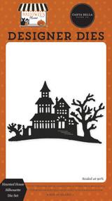 Halloween Market: Haunted House Silhouette Die Set