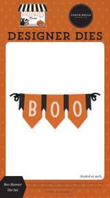 Halloween Market: Boo Banner Die Set