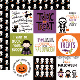 I Love Halloween: 4x4 Journaling Cards