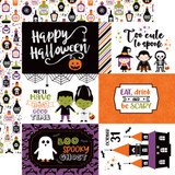 I Love Halloween: 6x4 Journaling Cards