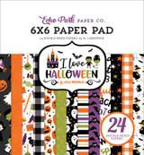 I Love Halloween: I Love Halloween 6x6 Paper Pad