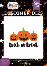 I Love Halloween: Trick or Treat Pumpkins Die Set