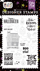I Love Halloween: Boo to You Stamp Set