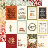 Hello Autumn: 3x4 Journaling Cards
