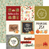 Hello Autumn: 4x4 Journaling Cards