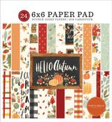 Hello Autumn: Hello Autumn 6x6 Paper Pad