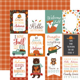 Happy Fall: 3x4 Journaling Cards