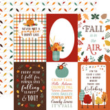 Happy Fall: 4x6 Journaling Cards