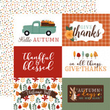 Happy Fall: 6x4 Journaling Cards
