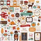 Happy Fall: Happy Fall Element Sticker