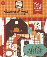 Happy Fall: Happy Fall Frames & Tags