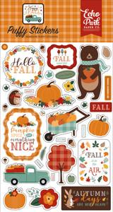Happy Fall: Happy Fall Puffy Stickers