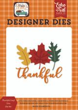 Happy Fall: Thankful Leaf Trio Die Set