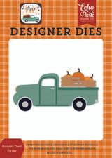 Happy Fall: Pumpkin Truck Die Set
