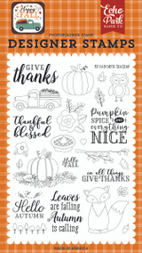 Happy Fall: Give Thanks Stamp Set