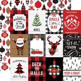 A Lumberjack Christmas: 3x4 Journaling Cards