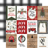 Farmhouse Christmas: 3x4 Journaling Cards