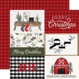 Farmhouse Christmas: 4x6 Journaling Cards