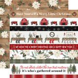 Farmhouse Christmas: Border Strips
