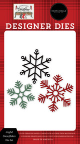 Farmhouse Christmas: Joyful Snowflakes Die Set