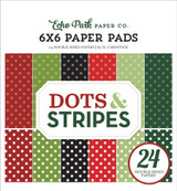 Christmas Dots & Stripes: 6x6 Paper Pad
