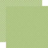 Christmas Dots & Stripes: Sage Dots