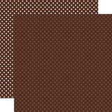 Fall Dots & Stripes: Brown Dots