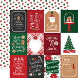 A Gingerbread Christmas: 3x4 Journaling Cards