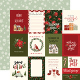 Hello Christmas: 3x4 Journaling Cards