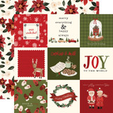 Hello Christmas: 4x4 Journaling Cards